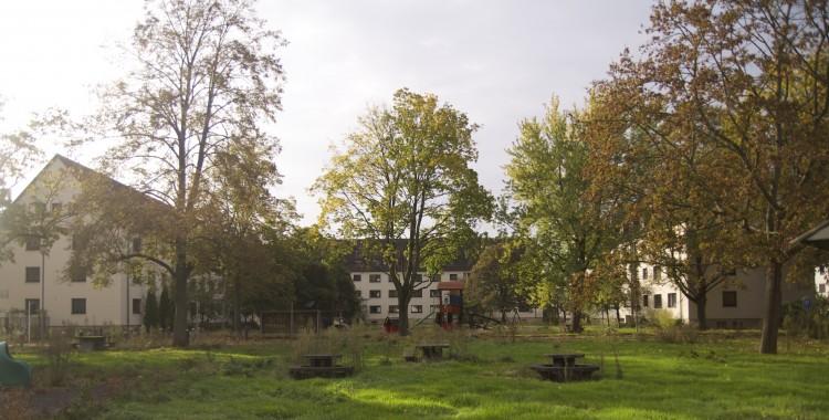 Das Gelände der Wohnprojekte