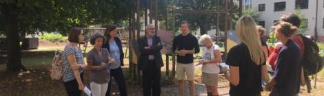 Bürgermeister Erichson auf Sommertour